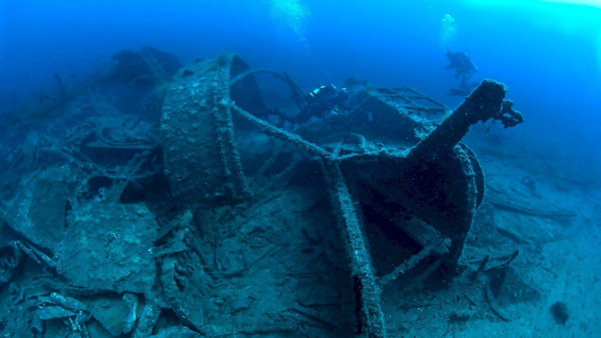तुर्की में खुला गैलीपोली बैटल शिपव्रेक का अंडरवाटर म्यूजियम, समुद्र के नीचे दिखे युद्ध से जुड़े निशां