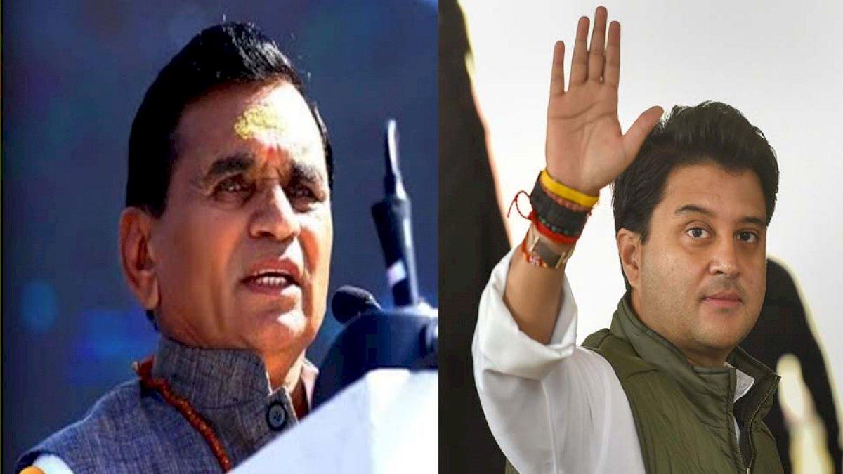 MP By Election: सिंधिया पूरी कांग्रेस खरीद सकते हैं, बीजेपी उम्मीदवार नारायण पटेल का दावा